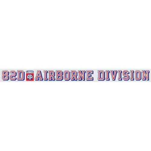 82nd airborne division window strip