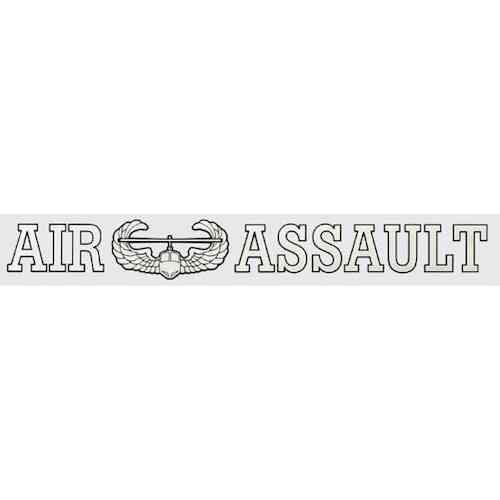 army air assault window strip