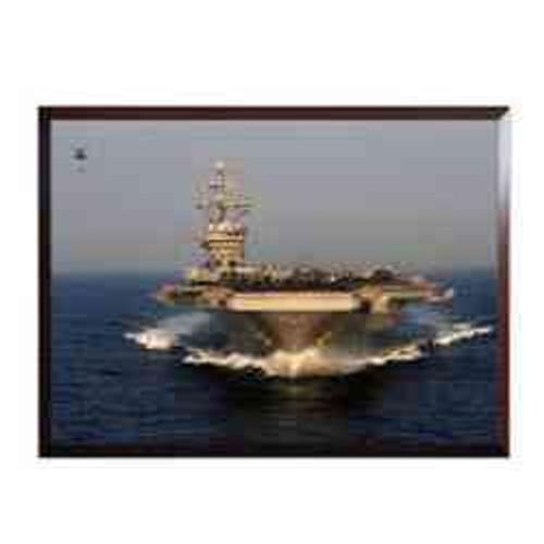 uss eisenhower high definition framed photo