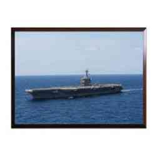 uss theodore roosevelt high definition framed photo
