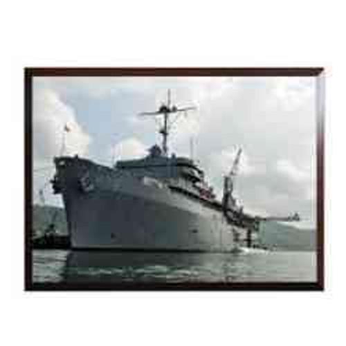 uss emory island high definition framed photo