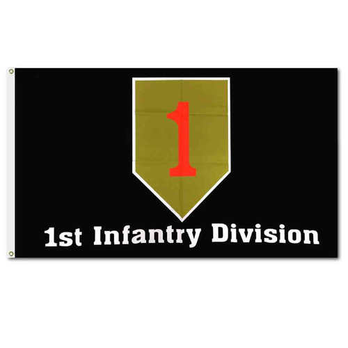 army 1st infantry division flag