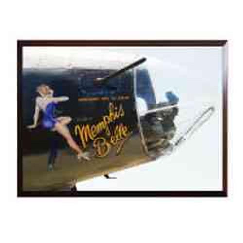memphis belle b17 nose art for b17 bomber framed photo