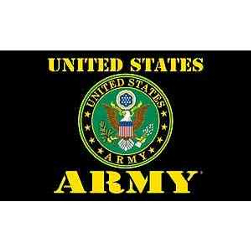 officially licensed u s army emblem flag