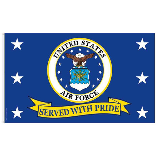 u s air force emblem flag
