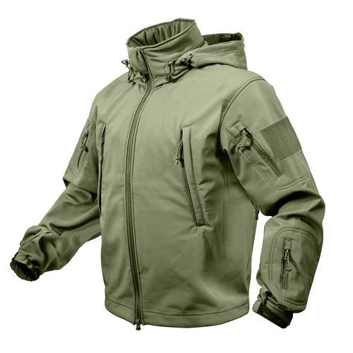 special ops tactical waterproof jacket