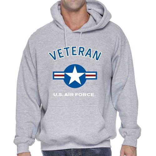 air force veteran hooded sweatshirt usaf roundel