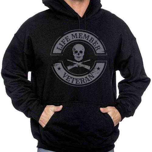 us veteran hooded sweatshirt life member veteran