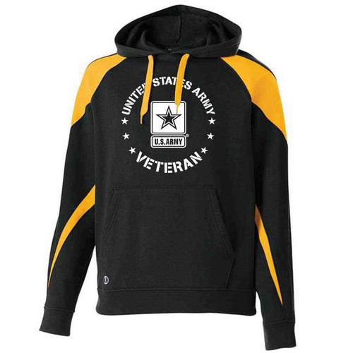 united states army veteran hoodie sweatshirt star logo officially licensed