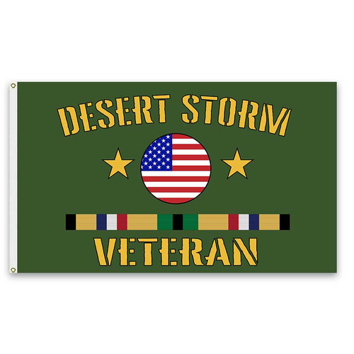 desert storm veteran flag ribbons