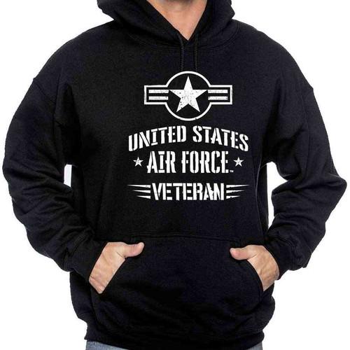 officially licensed us air force veteran hooded sweatshirt usaf roundel
