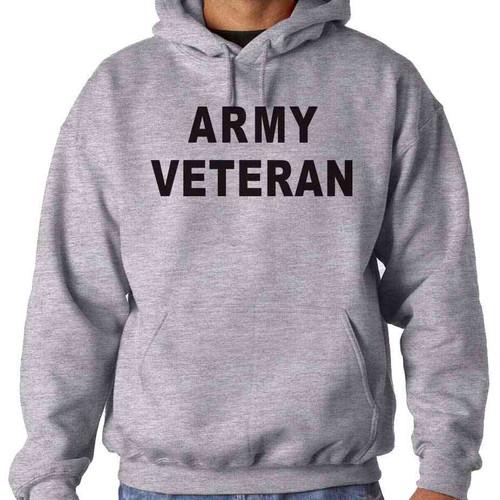 officially licensed us army hooded sweatshirt army veteran