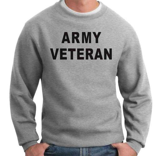officially licensed us army crewneck sweatshirt army veteran