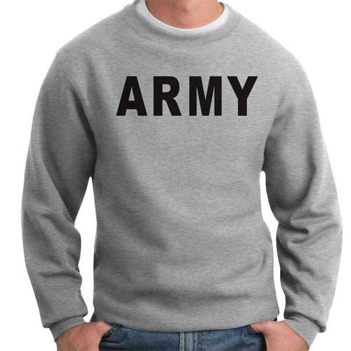 officially licensed us army crewneck sweatshirt army