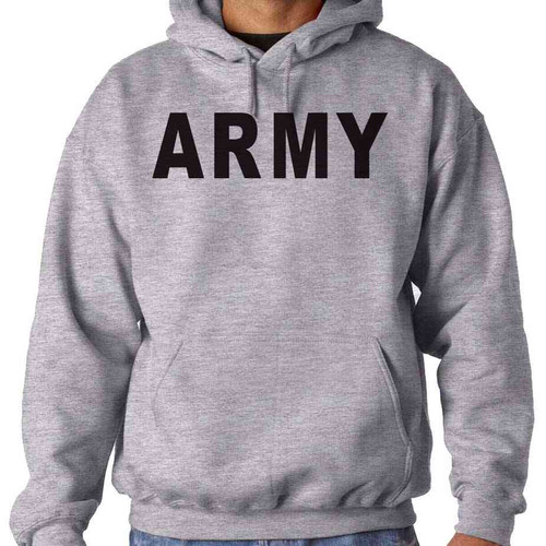 officially licensed us army hooded sweatshirt army