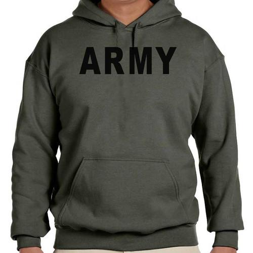 us army hooded sweatshirt army