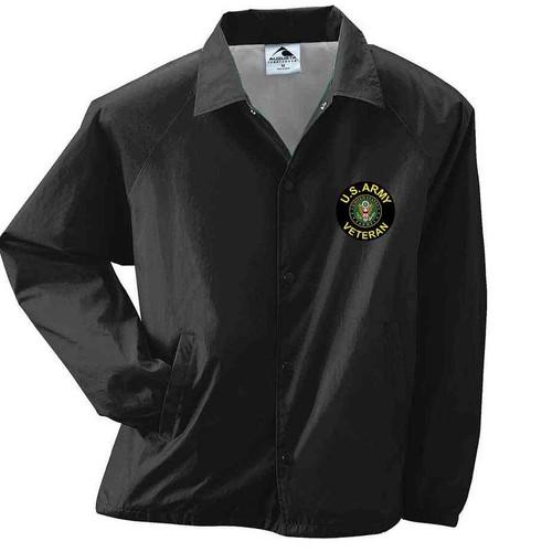 u s army veteran crest sport jacket