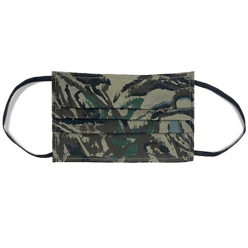 camouflage face mask elastic ear loops