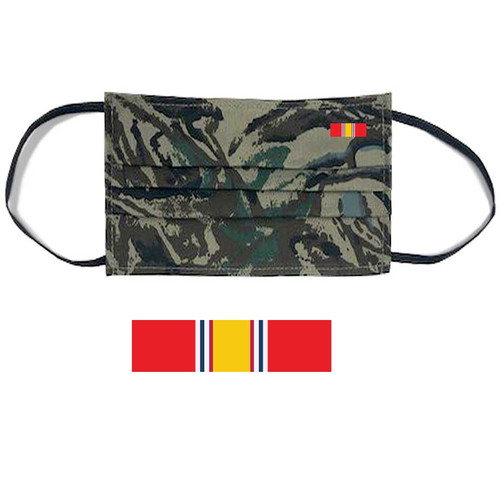 us veteran face mask national service ribbon