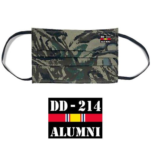 us veteran face mask dd214 alumni and national service ribbon s