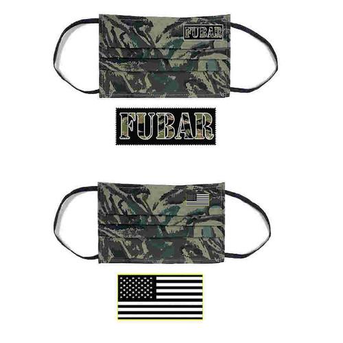 fubar face mask american flag face mask combo