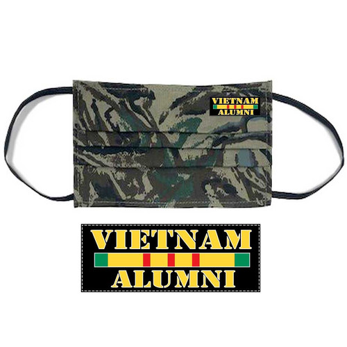 vietnam alumni face mask service ribbon