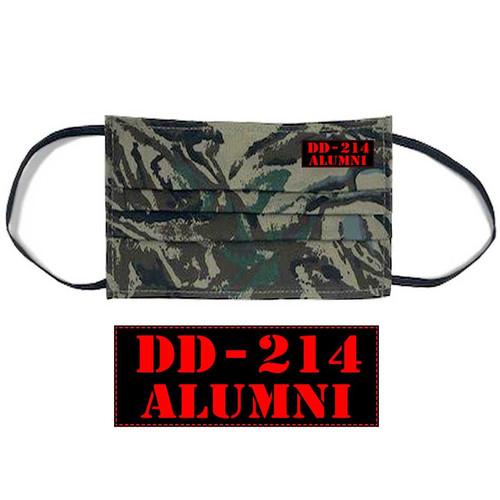 dd214 alumni face mask