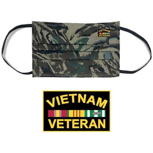 vietnam veteran face mask ribbons