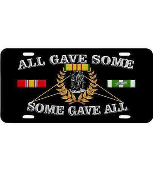 all gave some vietnam license plate