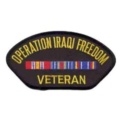 operation iraqi freedom veteran patch