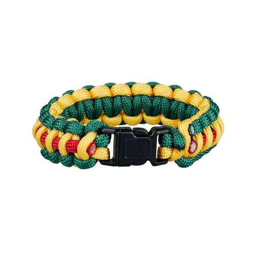 vietnam service ribbon pattern paracord bracelet