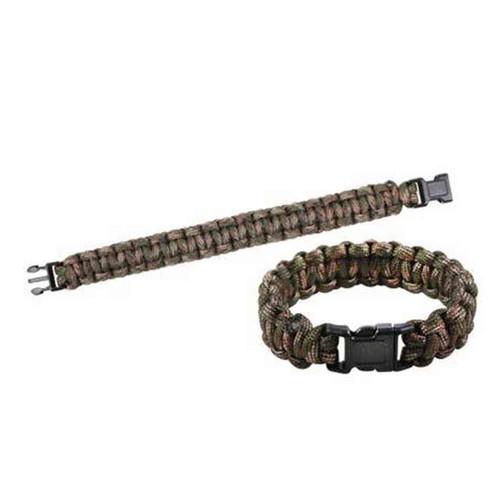 green camo paracord bracelet
