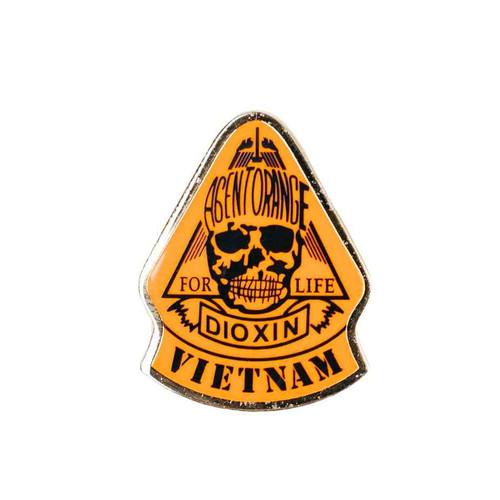 Agent Orange Hat Lapel Pin
