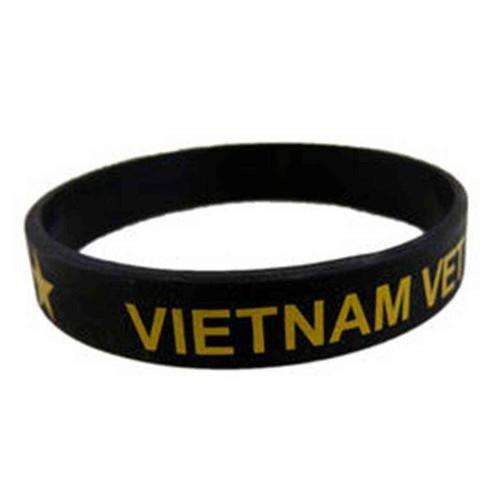 Vietnam Veteran Silicone Wristband/Bracelet