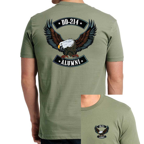 US Veteran T-Shirt with DD-214 and Eagle