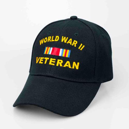 World War II Veteran Deluxe Ribbon Hat
