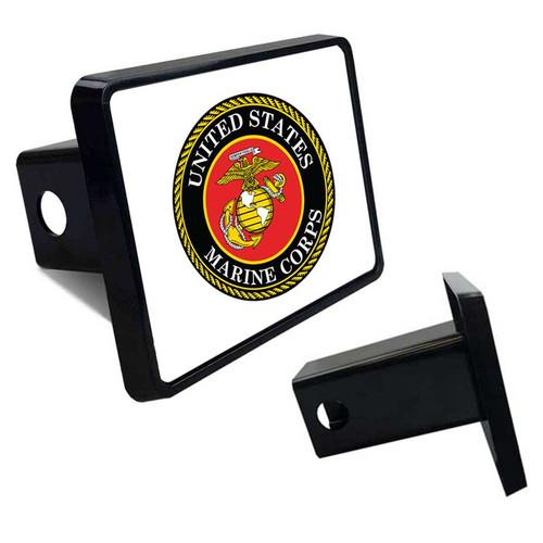 USMC Tow Hitch Cover with USMC Logo