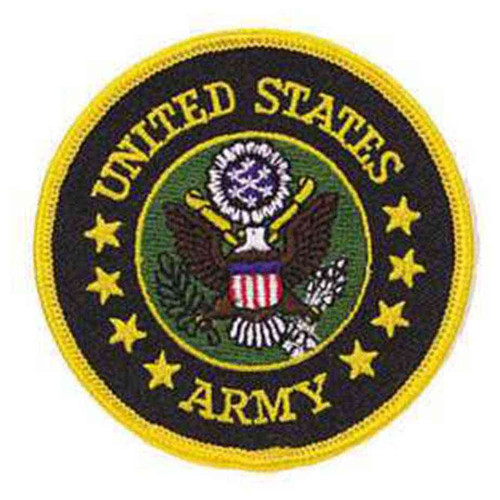 army round patch