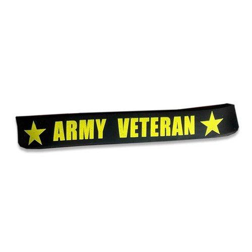 Army Veteran Silicone Wristband/Bracelet