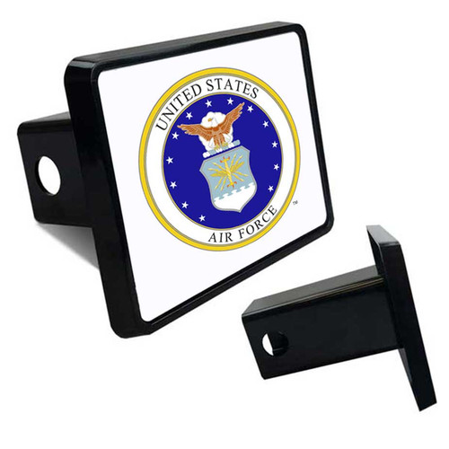 USAF Veteran Tow Hitch Cover with Air Force Logo