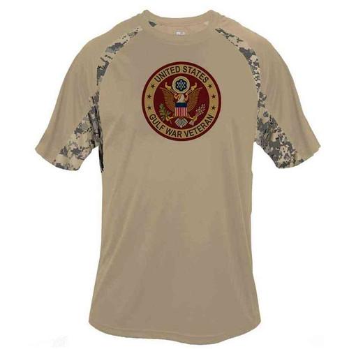 Gulf War Veteran Shirt with Eagle Emblem