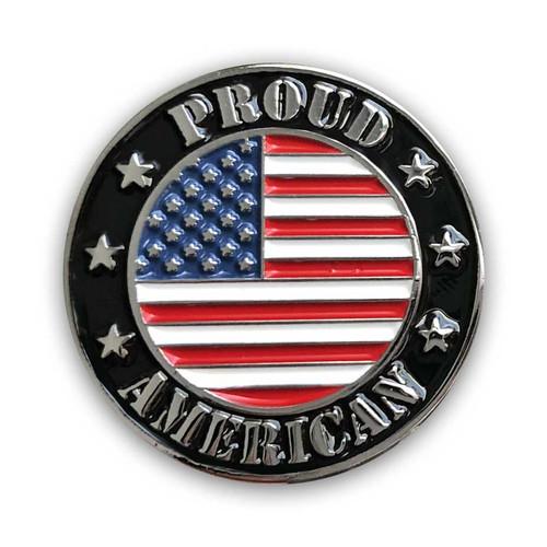 Proud American Lapel Pin