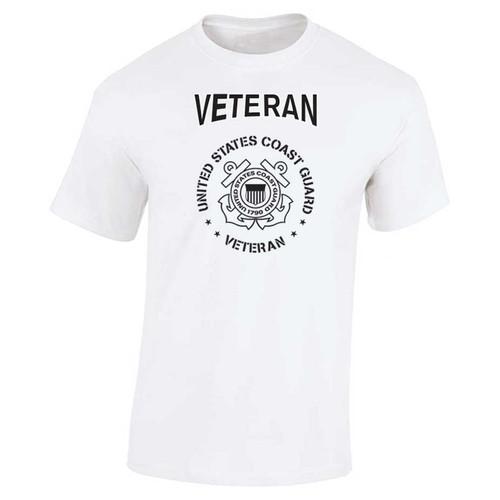 USCG Veteran T-Shirt with Coast Guard Logo