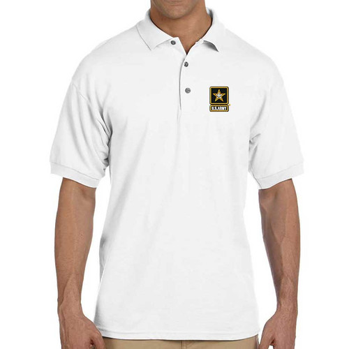 Officially Licensed US Army Polo Shirt with Embroidery
