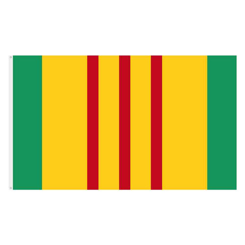 Vietnam Ribbon Flag