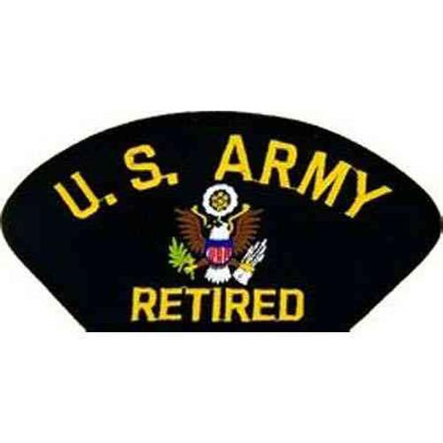 u s army retired patch