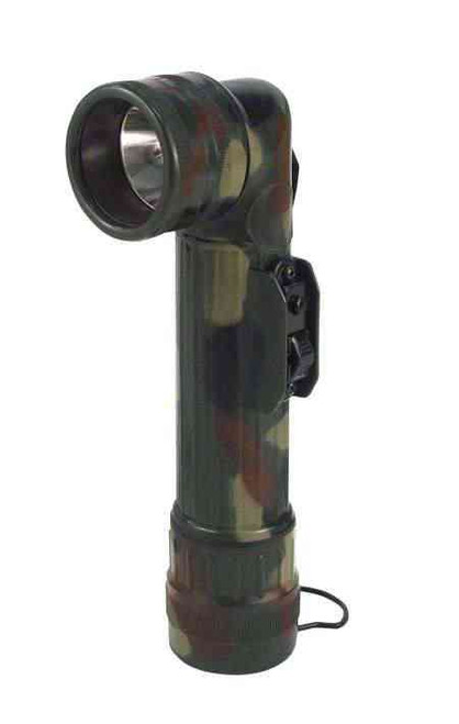 G.I. Style D-Cell Camouflage Flashlight