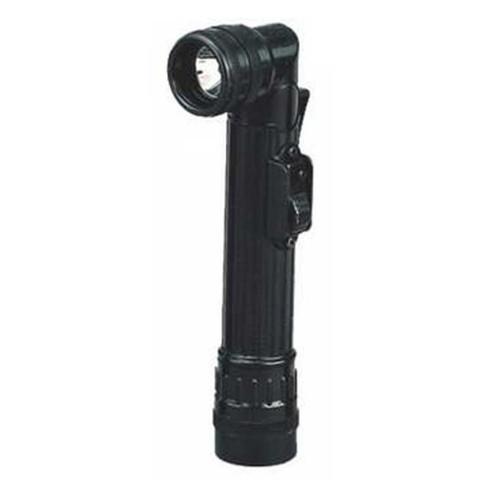 Black Mini Army Style Flashlight