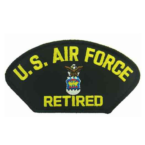 u s air force retired patch