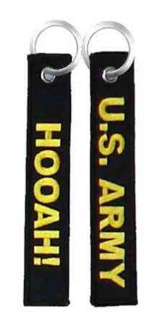 U.S. Army Double-Sided Ribbon Keychain